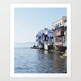 Little Venice - Mykonos Art Print