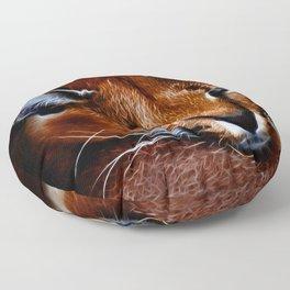 Karakul wildcat Floor Pillow