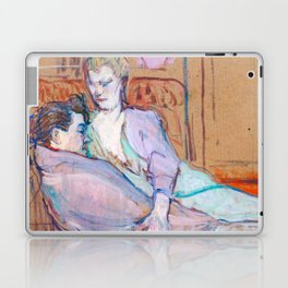 """Henri de Toulouse-Lautrec """"The Two Friends"""" Laptop & iPad Skin"""