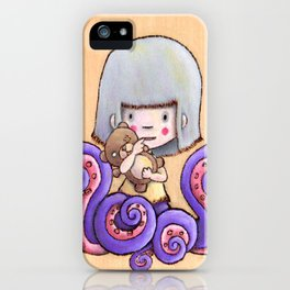 Side Show Girl iPhone Case