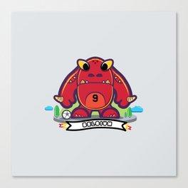 Monster Belgium 2014 Canvas Print