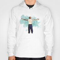 cyrilliart Hoodies featuring Tenerife Sea by Cyrilliart