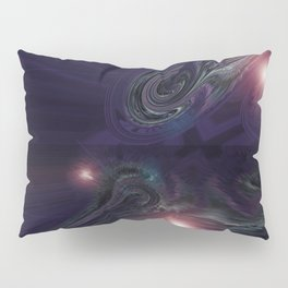 Purple Psychedelic Succulent v.2 Pillow Sham