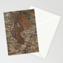 Egon Schiele - Levitation (The Blind II) Stationery Cards