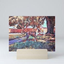 My darling, my dream Mini Art Print