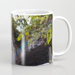 Looking up to the Natural Bridge, VA Coffee Mug