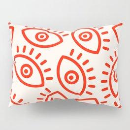 Eye Pattern Pillow Sham
