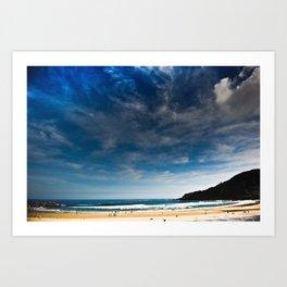 San Sebastian Beach, Spain Art Print
