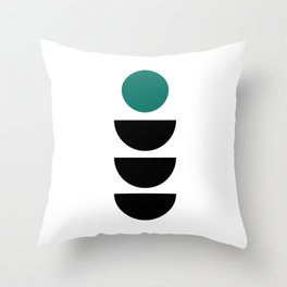 Scandinavian Minimalist Print Throw Pillow