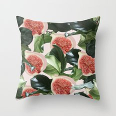 Figs & Leaves #society6 #decor #buyart Throw Pillow