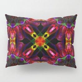 Deep Abstract Pattern Pillow Sham