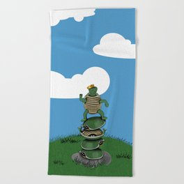 Yertle The Turtle Beach Towel