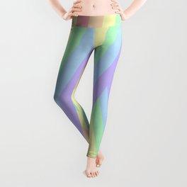 """Rainbow shine"" geometrical minimal art Leggings"