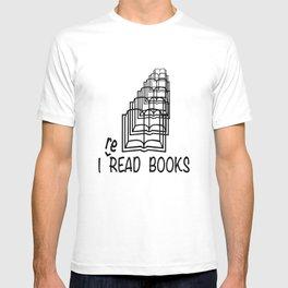 I reREAD books T-shirt