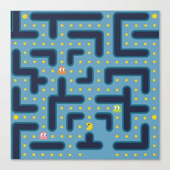 RETRO GAME Canvas Print