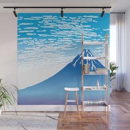 Hokusai Fuji under the Clear Sky Wall Mural