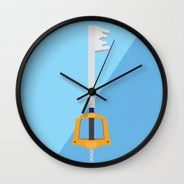 Kingdom Key (Kingdom Hearts) Postcard Wall Clock