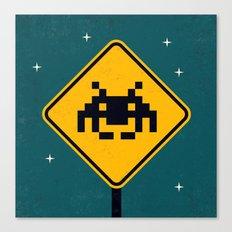 Road Sign Canvas Print