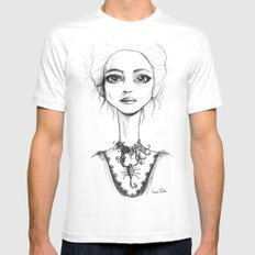 Vanessa Ives White Mens Fitted Tee MEDIUM