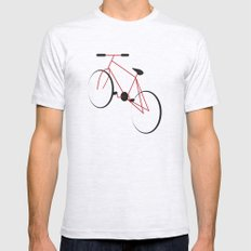 bike 2X-LARGE Mens Fitted Tee Ash Grey