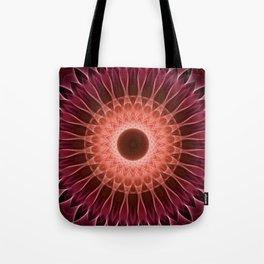 Pretty detailed floral mandala Tote Bag