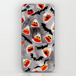 Halloween Candy Corn - Monsters - Trick or Treat iPhone Skin