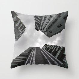 Milan Skycrapers Throw Pillow