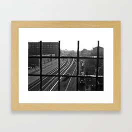 Dirty Oakland Framed Art Print