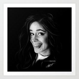 Camila Cabello Digital Painting #1 Art Print