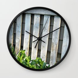 chippy gate Wall Clock
