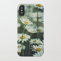 daisies iPhone & iPod Cases featuring daisies by Bonnie Jakobsen-Martin