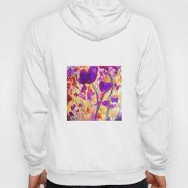 Poppies - Purple Watercolour Hoody