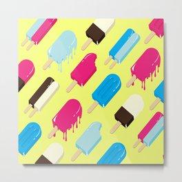 Popsicle Metal Print