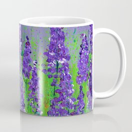 Fields of Lupine - Flowers Coffee Mug