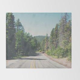 Santa Fe National Forest ... Throw Blanket