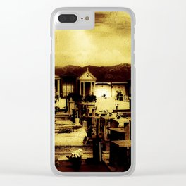 Italian Graveyard (O171015ig) Clear iPhone Case