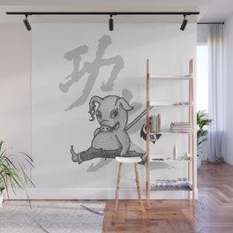 KungFu Zodiac - Pig Wall Mural