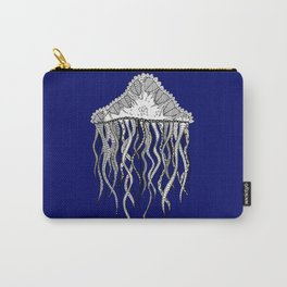 Blue Jellyfish Carry-All Pouch