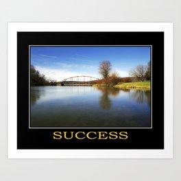 Inspirational Success Art Print
