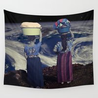 planet Wall Tapestries featuring Planet by a_Cs025