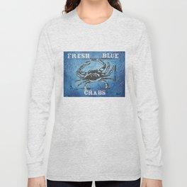 Fresh Blue Crabs Long Sleeve T-shirt