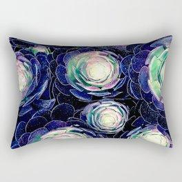 Plant Life At Night Rectangular Pillow