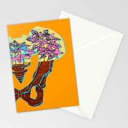 Pelvic Terrarium Stationery Cards