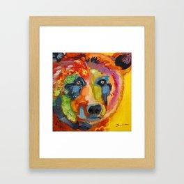 Bear B Framed Art Print
