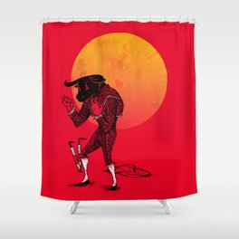 Matador's Dilemma Shower Curtain