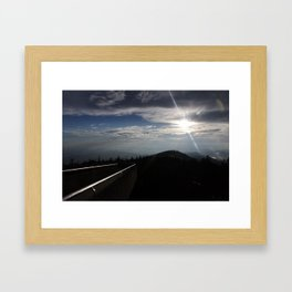 Great Smoky Mountains Clingmans Dome Framed Art Print