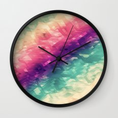 sea colors Wall Clock