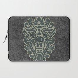 Barong, Balinese mask / The Beach movie Richard's t-shirt Laptop Sleeve