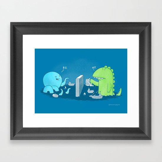 You Sunk My Navy! Framed Art Print