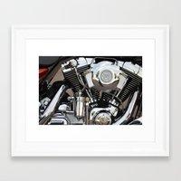 harley Framed Art Prints featuring Harley  by Marieken